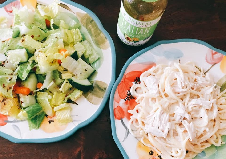 Low Carb Chicken Alfredo (THM S)