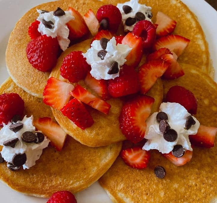 Good Old Fashioned Pancakes- (THM S, Keto, Low Carb)