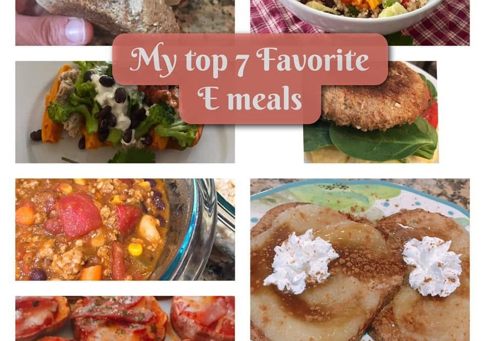 My 7 Favorite THM E Meals