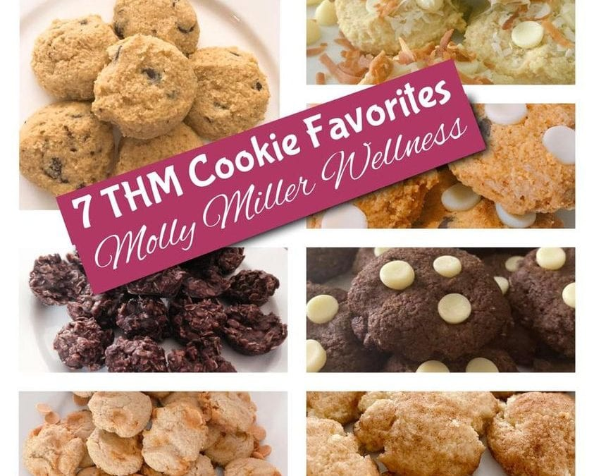 7 THM Cookie Favorites! (THM S, low carb, keto)
