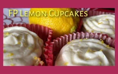 FP Lemon Cupcakes (keto, low carb)
